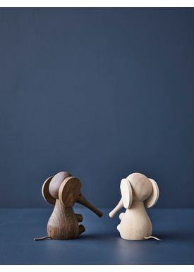 Lucie Kaas - Figure - Gunnar Flørning Collection - Elephant Smoked Oak