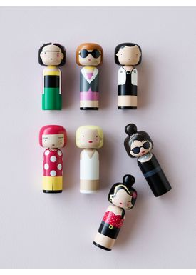 Lucie Kaas - Figure - Sketch.inc Kokeshi dolls - Jean Paul