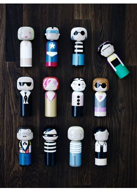 Lucie Kaas - Figure - Sketch.inc Kokeshi dolls - Spaceman