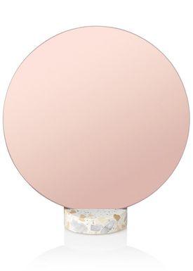 Lucie Kaas - Mirror - Erat Mirrors - Pink
