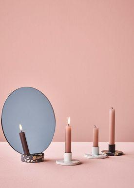 Lucie Kaas - Mirror - Erat Mirrors - Black