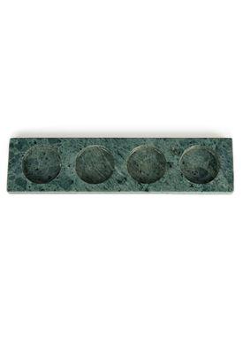 Nordstjerne - Candle Holder - Marble Candle Holder - Green Marble
