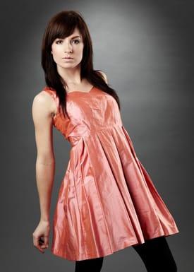 Maria Westerlind - Dress - Filippa - Dark pink