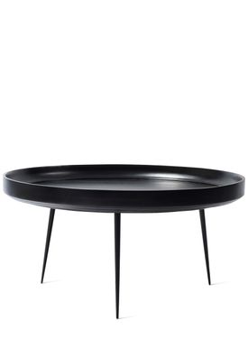Mater - Bord - Bowl Table - Black Stained Mango Wood - Extra Large