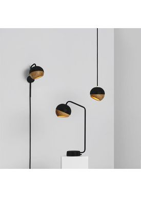 Mater - Lamp - Ray Lamp - Pendant Lamp Black Medium