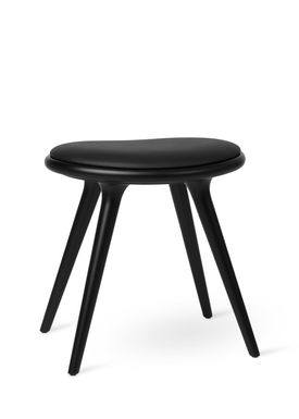 Mater - Stool - Low Stool 47 - Black Stained Beech