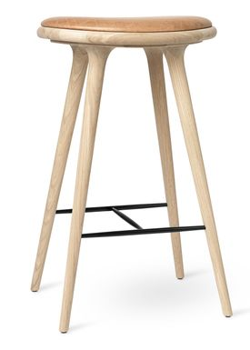 Mater - Chair - High Stool 74 - Soaped Oak