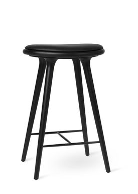 Mater - Chair - High Stool 69 - Black Stained Oak