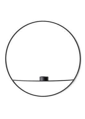 MENU - Candle Holder - POV Circle Tealight - Large - Black