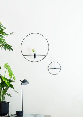 MENU - Candle Holder - POV Circle - Small - Black