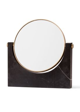 MENU - Mirror - Pepe Marble Mirror - Black