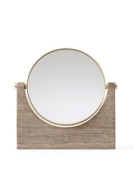 MENU - Mirror - Pepe Marble Mirror - Brown