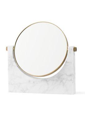 MENU - Mirror - Pepe Marble Mirror - White