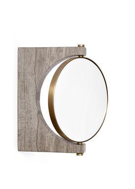 MENU - Mirror - Pepe Marble Mirror - Brown / Wall
