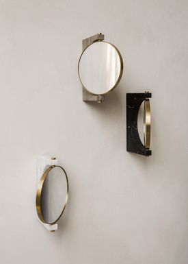 MENU - Mirror - Pepe Marble Mirror - White / Wall