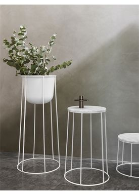 MENU - Top - Wire Table Top Marble - White