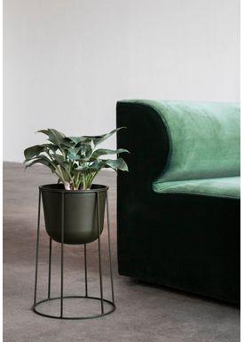 MENU - Vase - Wire Pot - Olive