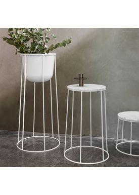 MENU - Vase - Wire Pot - White
