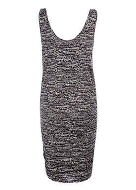 Modström - Klänning - Vicky Print Dress - Leo Lines