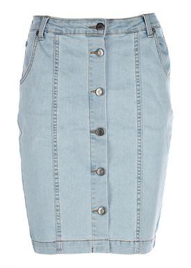 Modström - Nederdel - Shadi Skirt - Vintage Denim