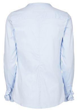 Mos Mosh - Skjorta - Mattie Shirt - Light Blue