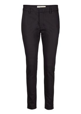 Mos Mosh - Pants - Abbey Night Pants - Black