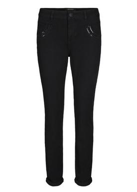 Mos Mosh - Jeans - Naomi Shine Jeans - Black Denim