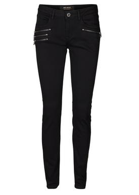 Mos Mosh - Jeans - Rosie Zip Jeans - Black Denim