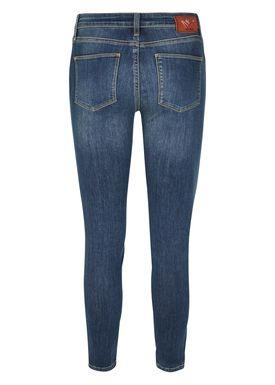 Mos Mosh - Jeans - Victoria Favourite 7/8 Jeans - Blue Denim