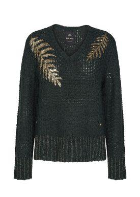 Mos Mosh - Knit - Anna Sequins Knit - Dark Teal