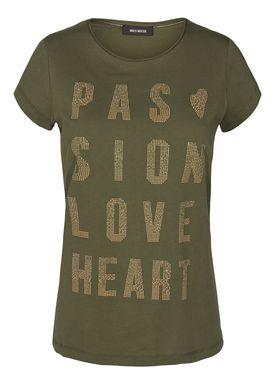 Mos Mosh - T-shirt - Crave Rivet Tee - Army