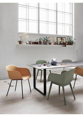 Muuto - Table - 70/70 Table - Grey Top