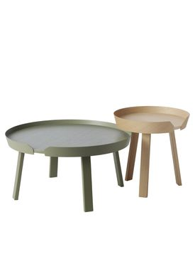 Muuto - Table - Around Table - Small - Dusty Green