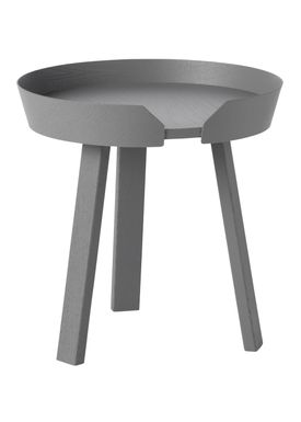 Muuto - Table - Around Table - Small - Dark Grey