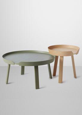 Muuto - Table - Around Table - Large - Dusty Green