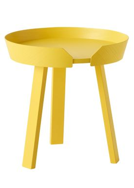 Muuto - Table - Around Table - Small - Yellow