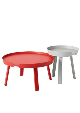 Muuto - Table - Around Table - Small - Grey