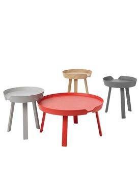 Muuto - Table - Around Table - Small - Tangerine