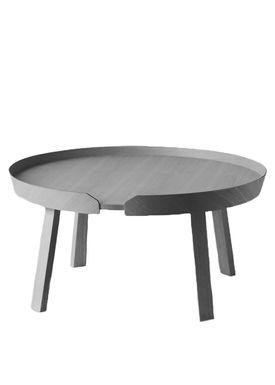 Muuto - Table - Around Table - Large - Dark Grey