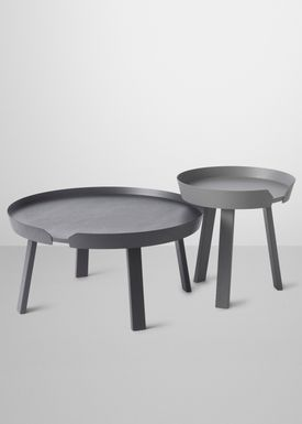 Muuto - Table - Around Table - Large - Anthracite