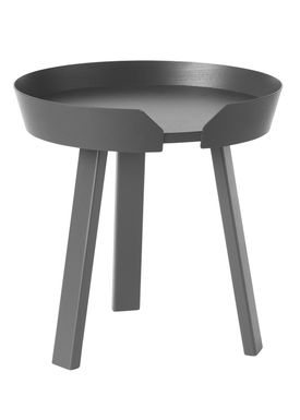 Muuto - Table - Around Table - Small - Anthracite