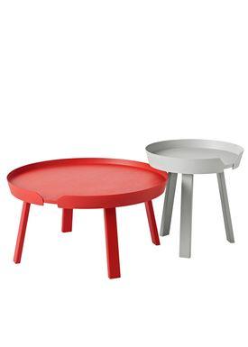 Muuto - Table - Around Table - Large - Tangerine