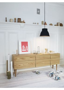 Muuto - Table - Reflect Sideboard - Black - Large