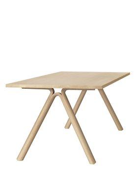 Muuto - Table - Split - Solid Oak