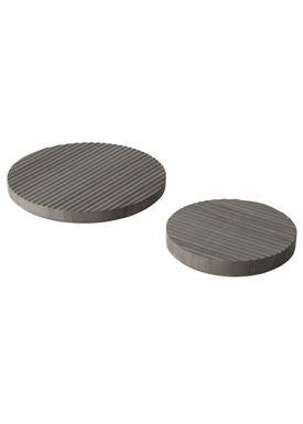 Muuto - Trivet - Groove Trivet - Large - Grey Marble