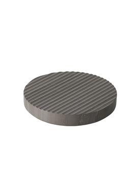 Muuto - Trivet - Groove Trivet - Small - Grey Marble