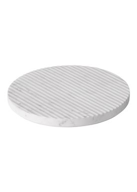 Muuto - Trivet - Groove Trivet - Large - White Marble