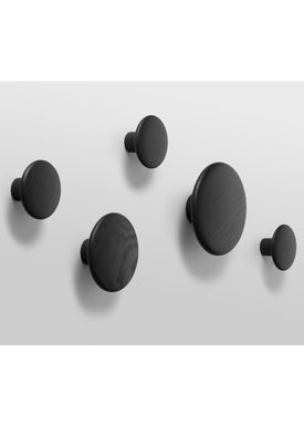 Muuto - Hooks - The Dots - Giftbox - Black