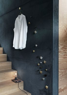 Muuto - Hooks - The Dots Metal - Black