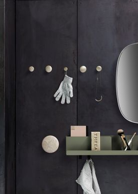 Muuto - Hooks - The Dots Metal - Brass